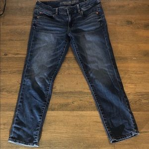 American eagle crap super stretch size 8